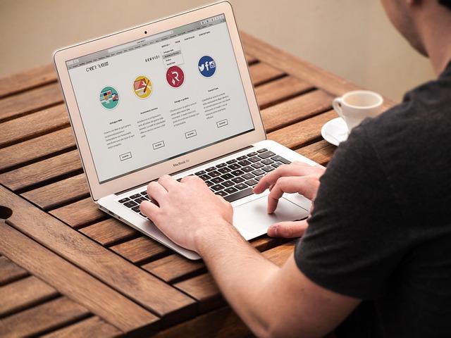 úprava webových stránek
