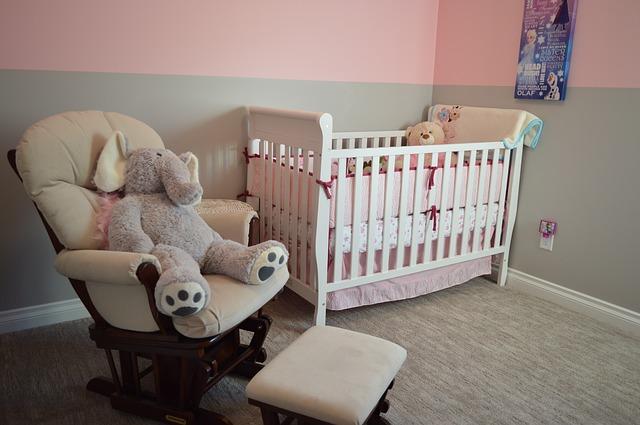 dětský pokoj pro mimino