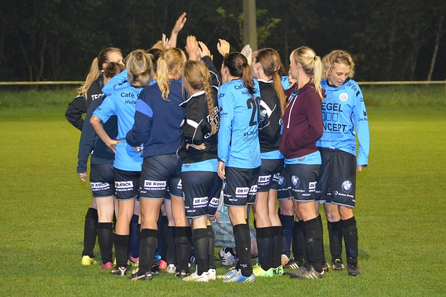 ženské fotbalové družstvo