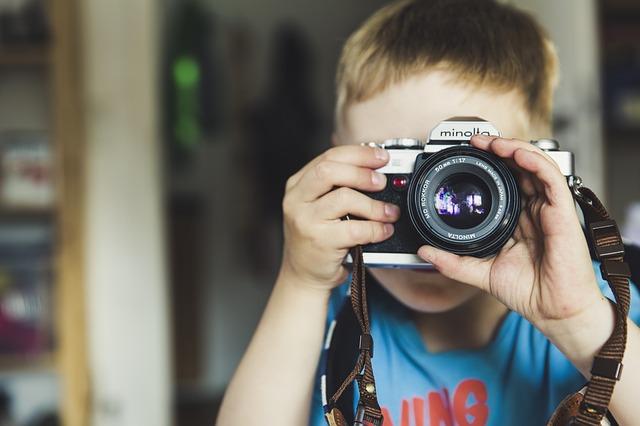 kluk fotograf