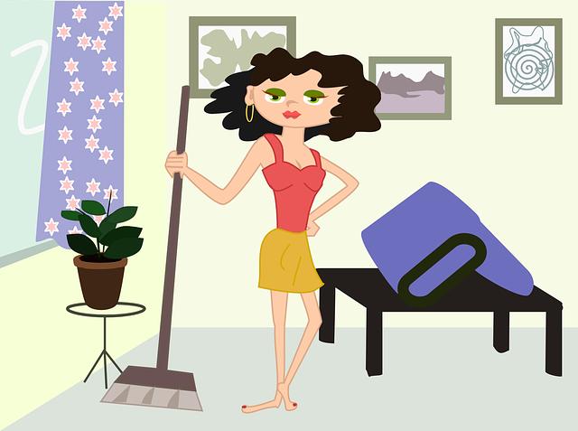 hodinová žena animovaná