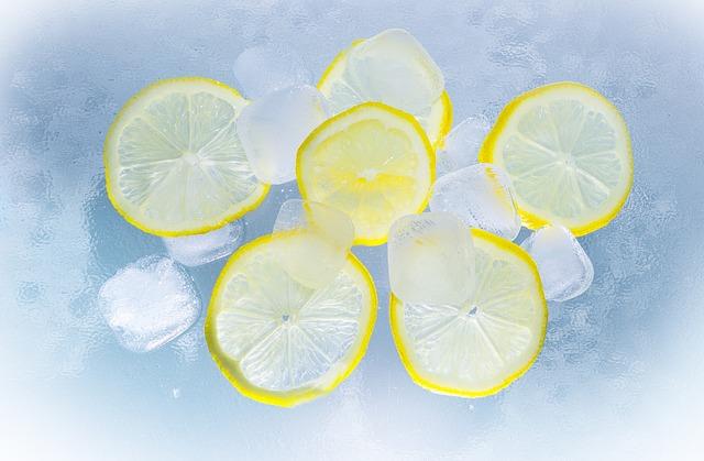 citron s ledem