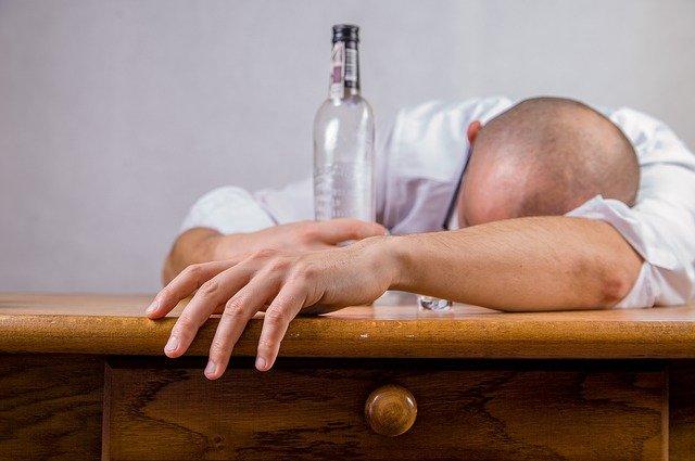 únava alkoholem