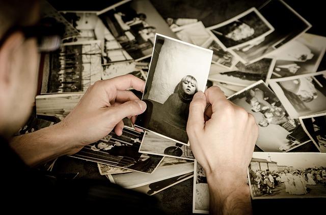 prohlížení fotografií