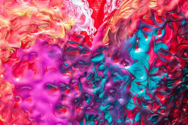 smíchané barvy