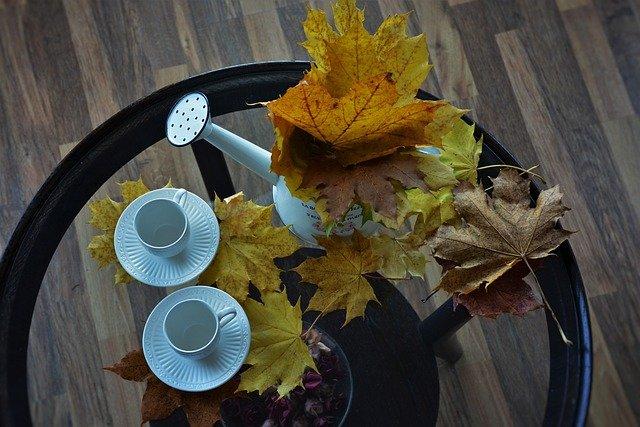 podzim a hrníčky