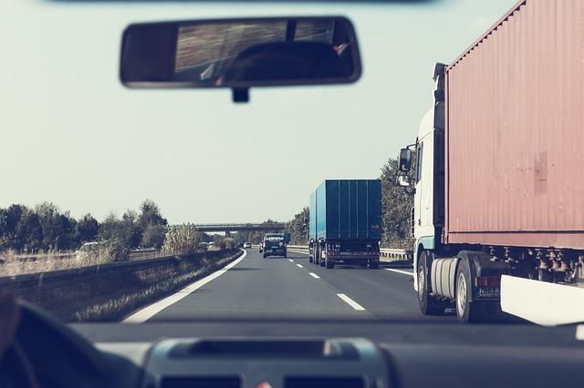 kamiony na našich silnicích