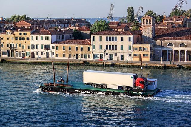 přeprava přes vodu