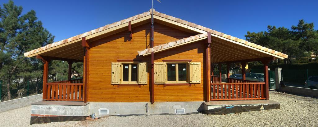 fotka dřevostavby
